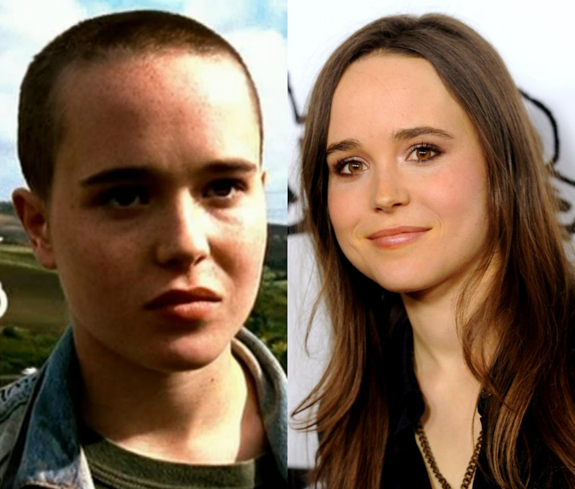 <p>Ellen Page braved the cut for her role in 2005's 'Mouth To Mouth'.<i> [Photo: Mouth To Mouth/ Getty]</i></p>