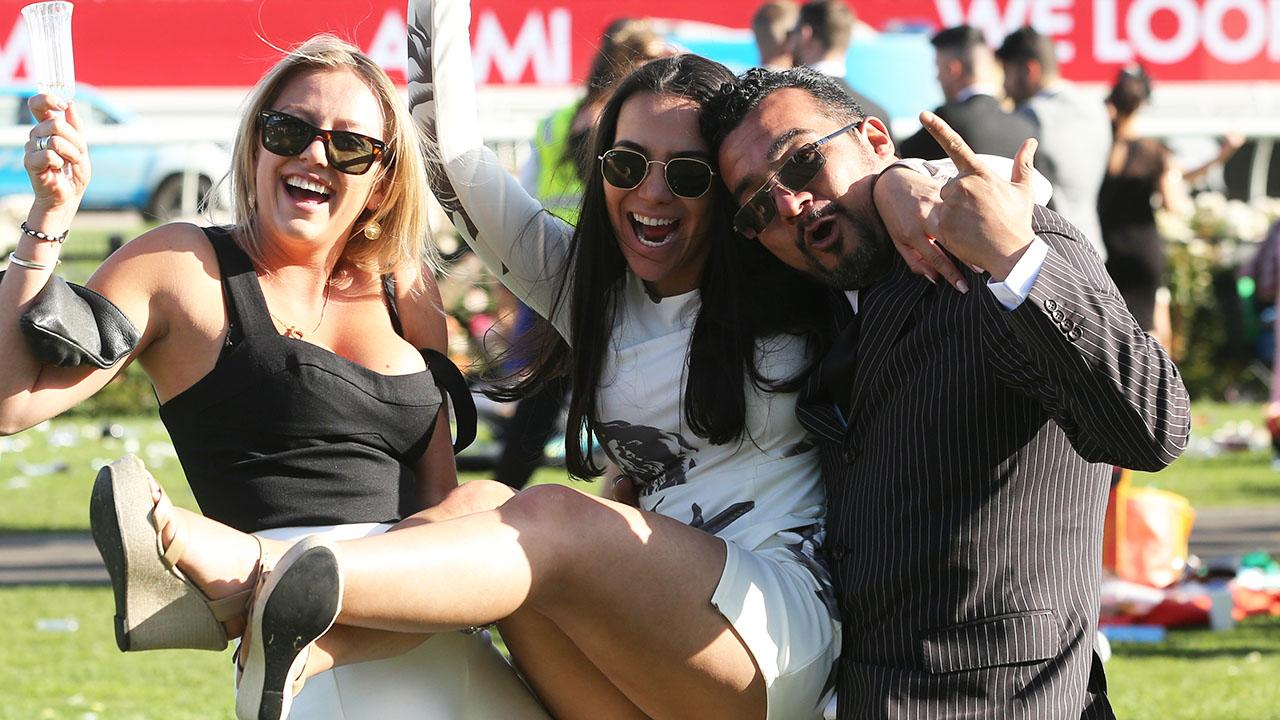 <p>Revellers certainly enjoyed themselves on an eventful Derby Day at Flemington. </p>