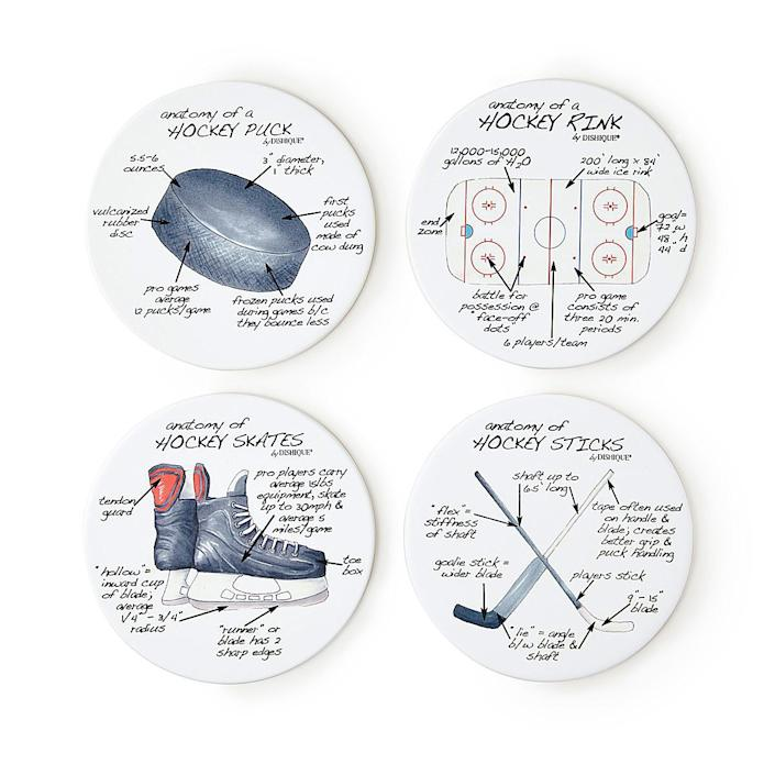 UncommonGoods Anatomy of Sports Coasters