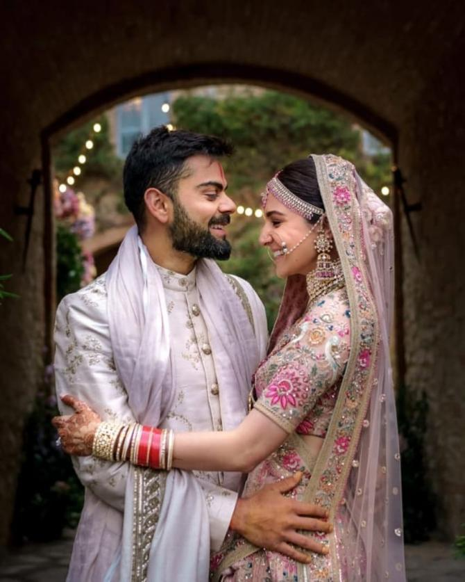 virat and anushkas wedding