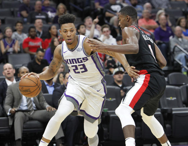 "<a class=""link rapid-noclick-resp"" href=""/nba/players/5653/"" data-ylk=""slk:Malachi Richardson"">Malachi Richardson</a> was the No. 22 overall pick in 2016. (AP)"