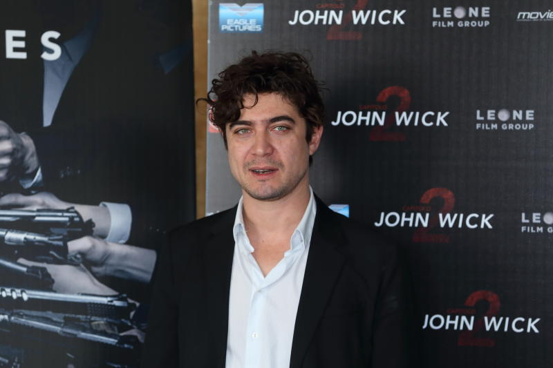 "BERNINI HOTEL, ROMA, RM, ITALY - 2017/03/08: Italian actor Riccardo Scamarcio during photocall of movie ""John Wick - Capitolo 2"", film directed by Chad Stahelski. (Photo by Matteo Nardone/Pacific Press/LightRocket via Getty Images)"