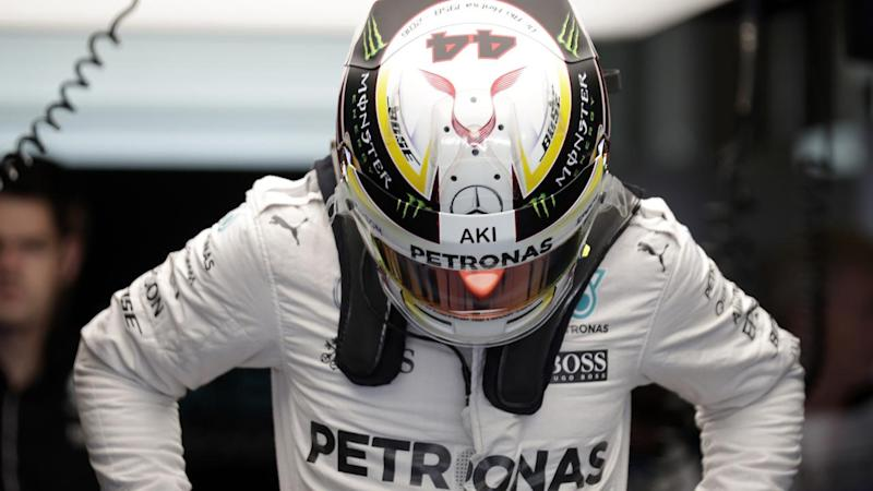 Lewis Hamilton has thrown down the challenge to Nico Rosberg during practice for the Abu Dhabi GP.