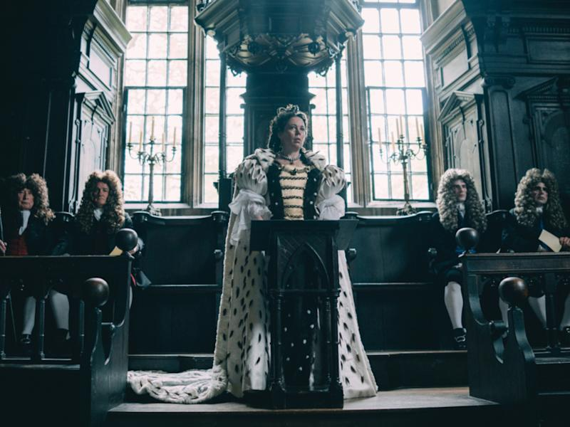 "Olivia Colman als Königin Anne in ""The Favourite - Intrigen und Irrsinn"" (Bild: 2018 Twentieth Century Fox)"