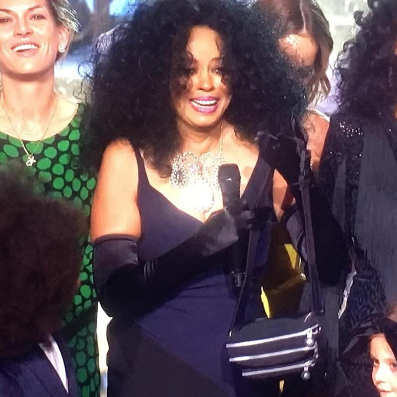 Diana Ross at the 2017 AMAs
