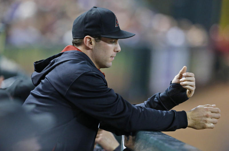 D-backs' Goldschmidt out for year with broken hand