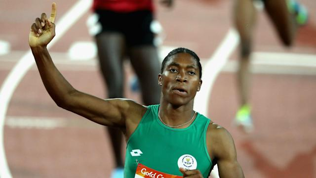 It was an evening to remember for Caster Semenya, while history was made in the men's javelin at the Doha Diamond League meeting.