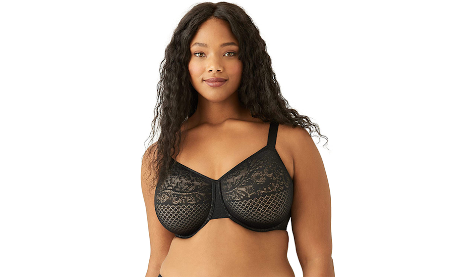 Your clothes will fit like a charm with this minimizer bra. (Photo: Amazon)