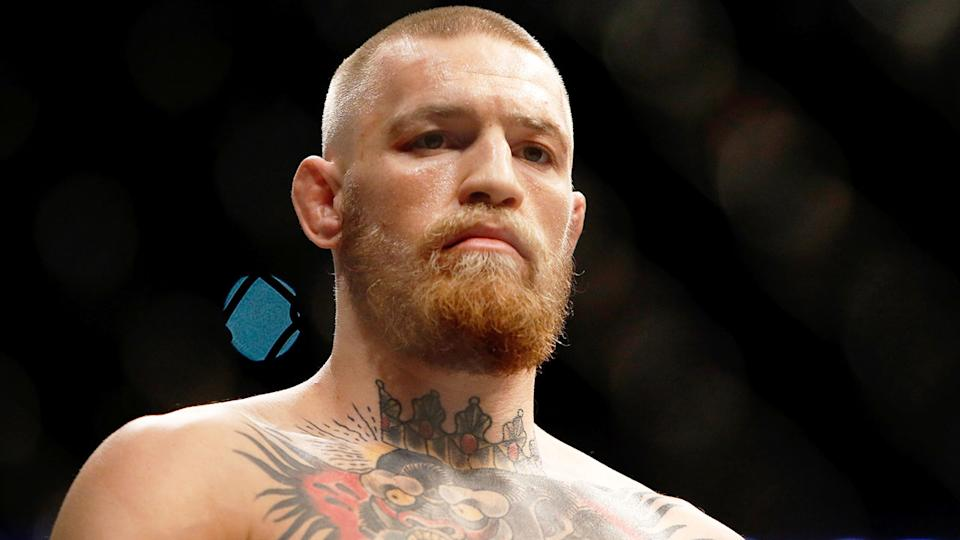 Pictured here, Conor McGregor has fired several explosive shots at rival fighters after UFC 249.