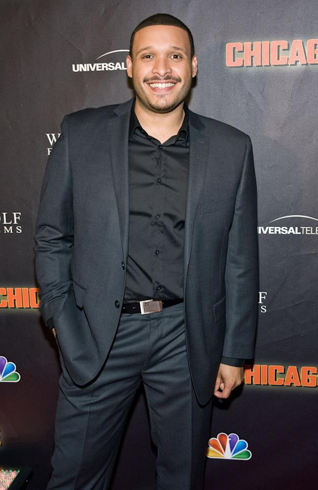 """Joe Minoso attends NBC's """"Chicago Fire"""" premiere at the Chicago History Museum on October 2, 2012 in Chicago, Illinois."""