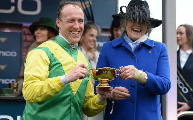 Jessica Harrington became the second woman to train a Gold Cup winner - 2017 Getty Images