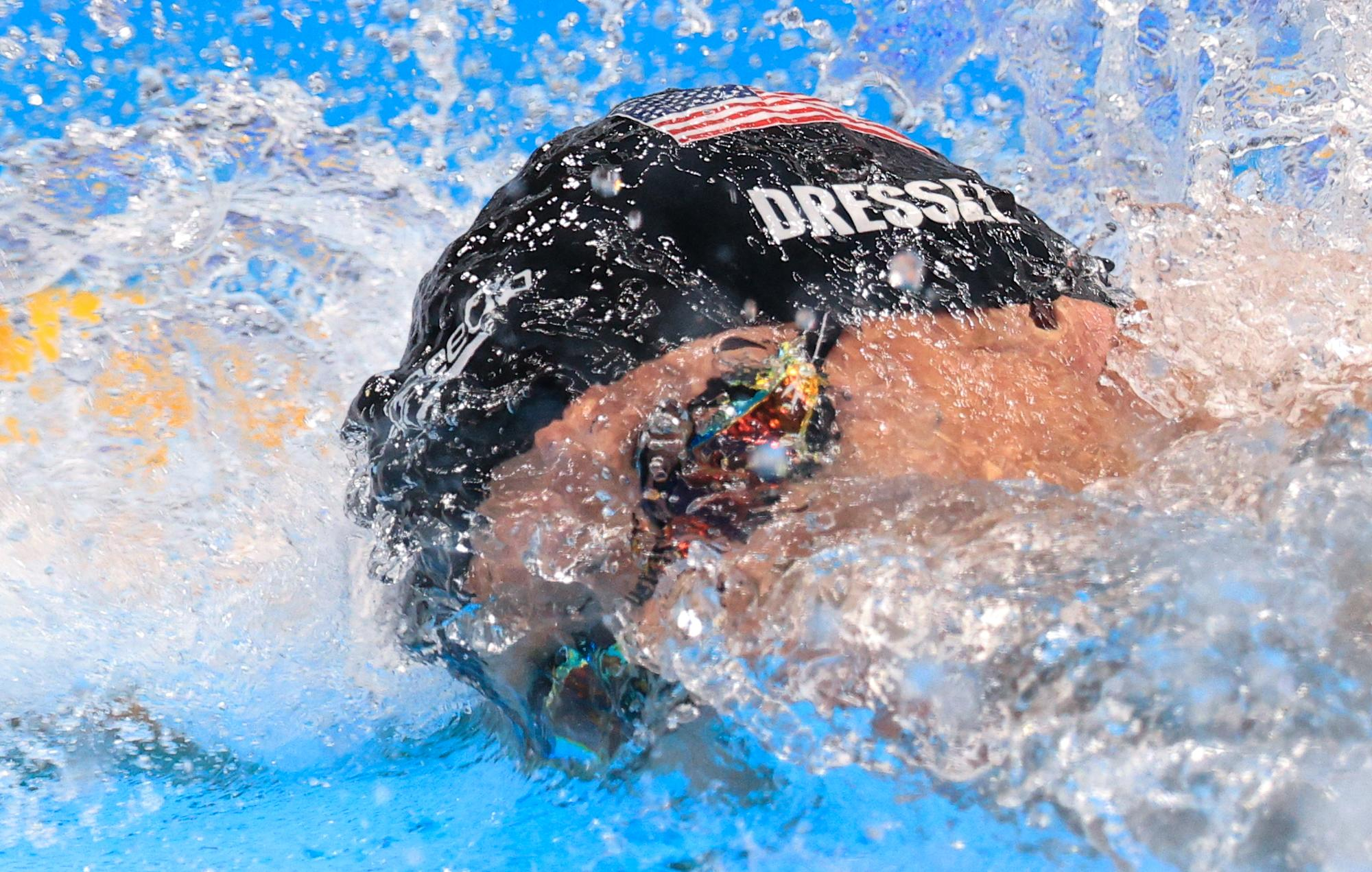 Caeleb Dressel gets his individual Olympic gold