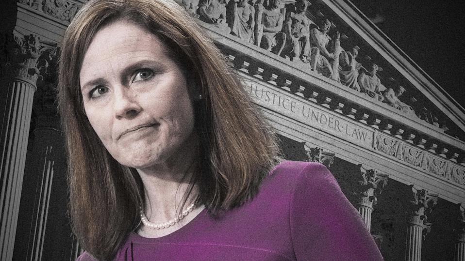 Republicans emphasized Amy Coney Barrett's roles as a wife and mother during her Supreme Court confirmation hearings.
