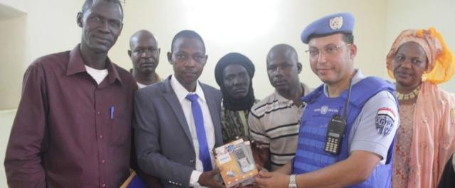 UN mission donates equipment to radio stations in bid to