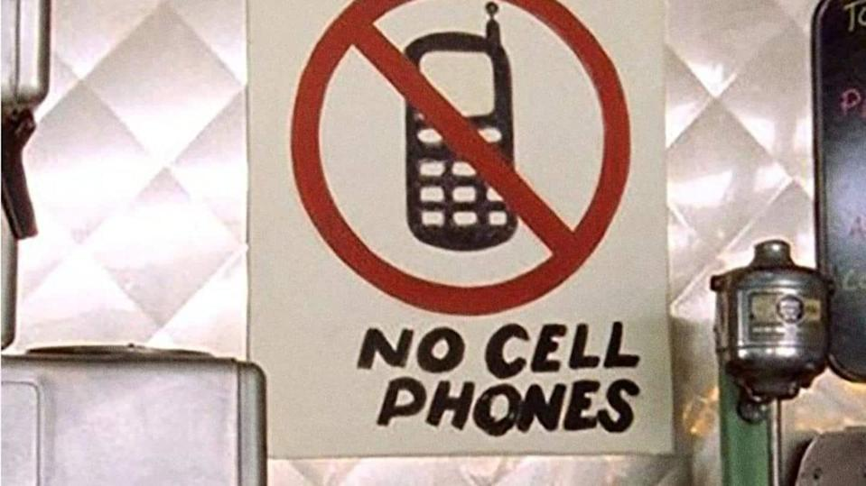 Where and when should you avoid using your mobile phones?