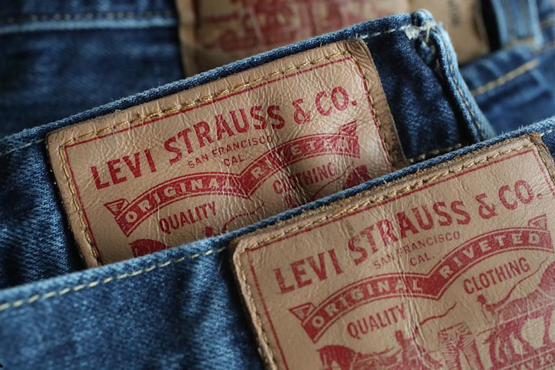 Levi's jeans seen on March 8, 2018 in Berlin, Germany. (Sean Gallup via Getty Images)