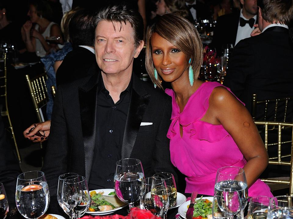 Iman has two children with theGetty Images