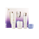 """Another beauty bundle primed for gifting? This one from <a href=""""https://www.glamour.com/gallery/best-tatcha-products?mbid=synd_yahoo_rss"""" rel=""""nofollow noopener"""" target=""""_blank"""" data-ylk=""""slk:Tatcha"""" class=""""link rapid-noclick-resp"""">Tatcha</a>, featuring not one, not two, but three <a href=""""https://www.glamour.com/gallery/beauty-awards-readers-choice-product-winners?mbid=synd_yahoo_rss"""" rel=""""nofollow noopener"""" target=""""_blank"""" data-ylk=""""slk:Glamour Beauty Award winners"""" class=""""link rapid-noclick-resp""""><em>Glamour</em> Beauty Award winners</a>, including the <a href=""""https://www.glamour.com/story/glamour-beauty-awards-readers-choice-skin-nominees?mbid=synd_yahoo_rss"""" rel=""""nofollow noopener"""" target=""""_blank"""" data-ylk=""""slk:Meghan Markle–approved Rice Polish"""" class=""""link rapid-noclick-resp"""">Meghan Markle–approved Rice Polish</a>, the <a href=""""https://www.glamour.com/story/tatcha-the-essence-review?mbid=synd_yahoo_rss"""" rel=""""nofollow noopener"""" target=""""_blank"""" data-ylk=""""slk:Essence"""" class=""""link rapid-noclick-resp"""">Essence</a>, and the <a href=""""https://www.glamour.com/story/tatcha-the-dewy-skin-cream-review?mbid=synd_yahoo_rss"""" rel=""""nofollow noopener"""" target=""""_blank"""" data-ylk=""""slk:Dewy Skin Cream"""" class=""""link rapid-noclick-resp"""">Dewy Skin Cream</a>—all perfect for transitioning their skin-care regimen into fall mode. $75, Sephora. <a href=""""https://shop-links.co/cfG0csmE5rN"""" rel=""""nofollow noopener"""" target=""""_blank"""" data-ylk=""""slk:Get it now!"""" class=""""link rapid-noclick-resp"""">Get it now!</a>"""