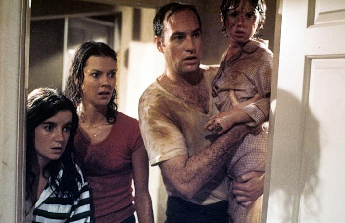 Dominique Dunn, JoBeth Williams, Craig T. Nelson, and Oliver Robins starred in the 1982 film Poltergeist.