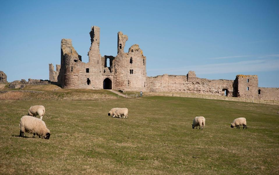 Dunstanburgh Castle was built in the 14th century by Thomas, Earl of Lancaster - Rama Knight/Historic England