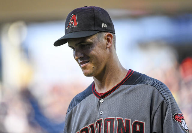 """Zack Greinke doesn't want to throw a no-hitter because of the """"hassle"""" it would cause him. (Photo by Mark Goldman/Icon Sportswire via Getty Images)"""