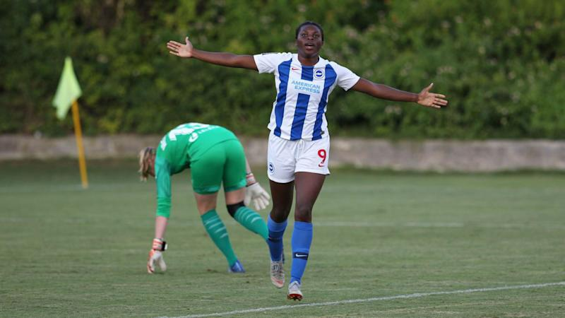 Umotong inspires Brighton to victory against Coleman's Valencia in Spain