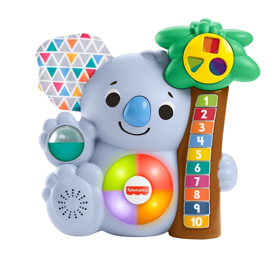 """<p><strong>Fisher-Price</strong></p><p>walmart.com</p><p><strong>$18.73</strong></p><p><a href=""""https://go.redirectingat.com?id=74968X1596630&url=https%3A%2F%2Fwww.walmart.com%2Fip%2F707532057&sref=https%3A%2F%2Fwww.redbookmag.com%2Flife%2Ffriends-family%2Fg34828589%2Fholiday-gifts-for-kids-of-every-age%2F"""" rel=""""nofollow noopener"""" target=""""_blank"""" data-ylk=""""slk:Shop Now"""" class=""""link rapid-noclick-resp"""">Shop Now</a></p>"""