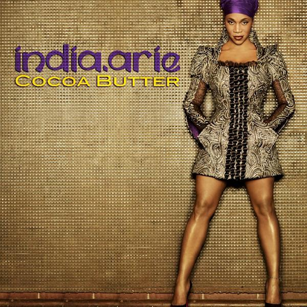 "This publicity photo provided by SoulBird/Motown shows the cover artwork for singer India.Arie's single, ""Cocoa Butter."" The R&B songstress is known for singing about being authentic and celebrating one's true self. But some accused India.Arie of lightening her skin when a publicity photo for her song ""Cocoa Butter"" released this week made it look as though she were several shades lighter than her dark brown complexion. (AP Photo/SoulBird/Motown, Randee St. Nicholas)"