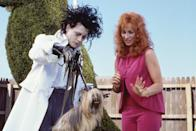 """<p>Thompson politely declined to share exactly which scenes were shot before Johnny Depp began channeling her dog, only saying that she """"can totally see the difference"""" when she watches the film. Incidentally, the dog that Edward is based on was a border collie mix Thompson had in early adulthood. """"I swear to god, if she'd had a larynx she would have talked."""" <br></p>"""