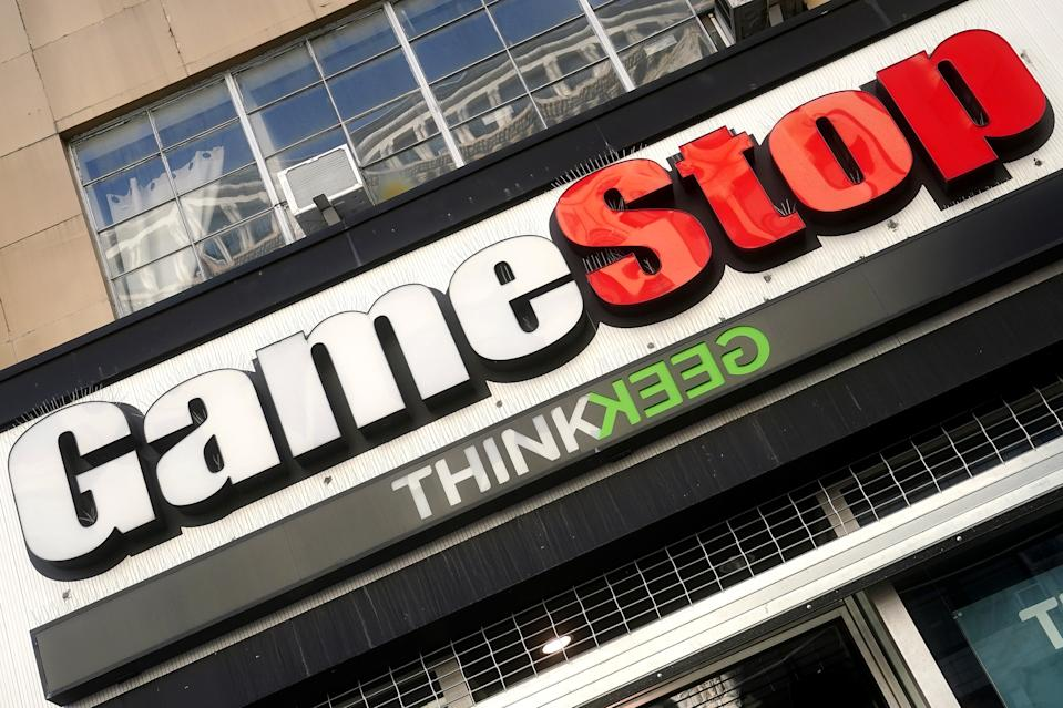 A GameStop store is pictured in the Manhattan borough of New York City, New York, U.S., January 29, 2021. REUTERS/Carlo Allegri