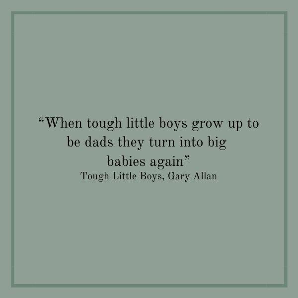 Songs About Dads: Tough Little Boys
