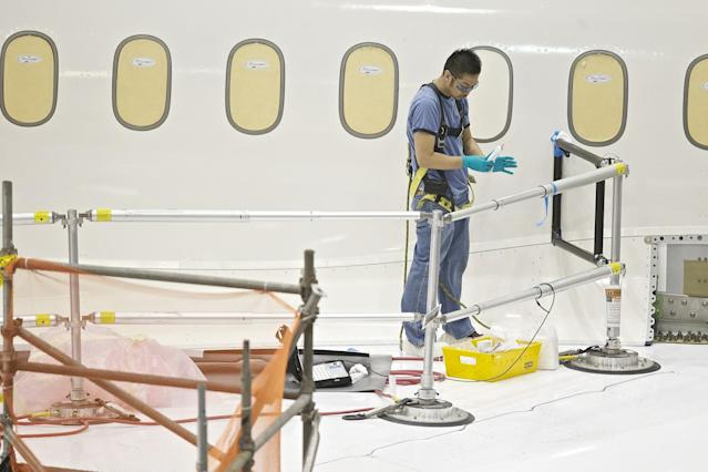<p>No. 103: Aircraft Painter I<br> Total Score: 35.13<br> Immediate Opportunity Rank: 90<br> Grown Potential Rank: 97<br> Job Hazards Rank: 84<br> (Getty) </p>