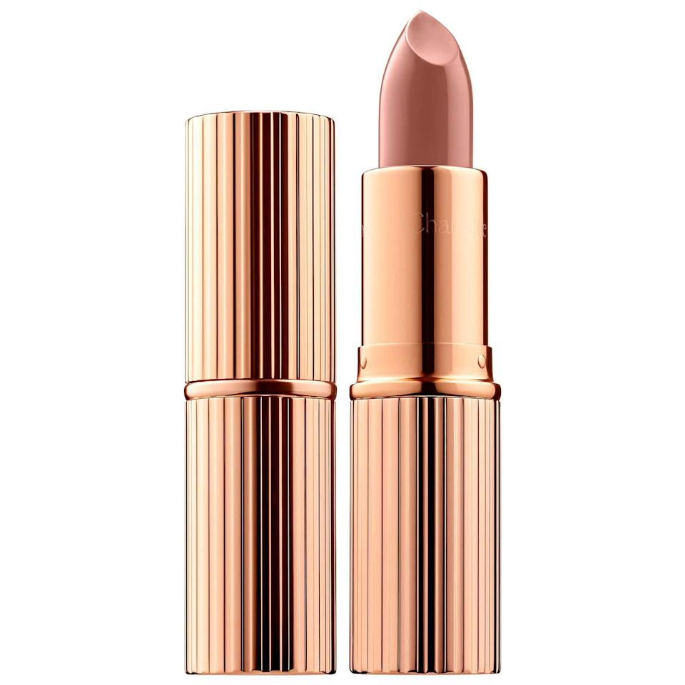 """<p><strong>Charlotte Tilbury</strong></p><p>sephora.com</p><p><strong>$34.00</strong></p><p><a href=""""https://go.redirectingat.com?id=74968X1596630&url=https%3A%2F%2Fwww.sephora.com%2Fproduct%2Fk-i-s-s-i-n-g-lipstick-P433531&sref=https%3A%2F%2Fwww.townandcountrymag.com%2Fstyle%2Fg2095%2Fmothers-day-gift-ideas%2F"""" rel=""""nofollow noopener"""" target=""""_blank"""" data-ylk=""""slk:Shop Now"""" class=""""link rapid-noclick-resp"""">Shop Now</a></p><p>There's a reason Charlotte Tilbury lipstick is always sold out. Give mom's look a quick refresh for spring with a new hue from Tilbury's creamy lippie line. Comfortably-wearing and with the chicest packaging to boot, you really can't go wrong. </p>"""
