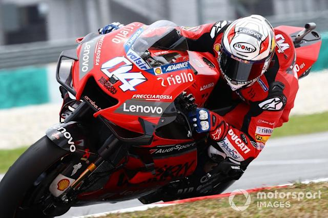 """15º Andrea Dovizioso, Ducati Team - 1:58.859 <span class=""""copyright"""">Gold and Goose / Motorsport Images</span>"""