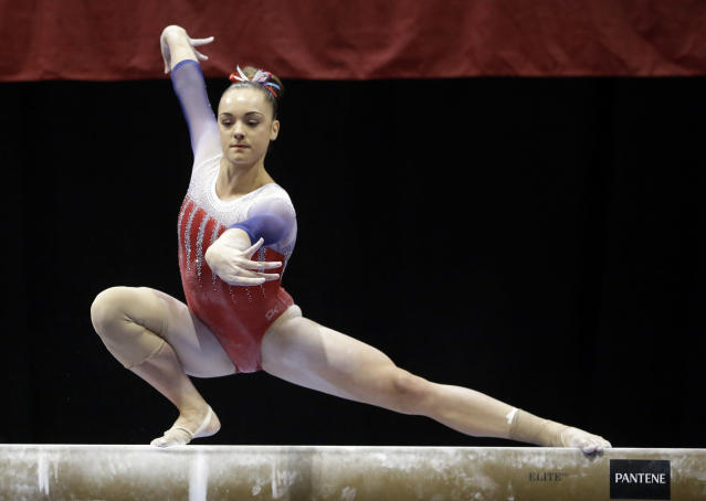 Maggie Nichols is the latest gymnast to accuse former USA Gymnastics doctor Larry Nassar of sexual abuse. (AP)