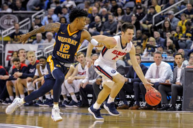 Belmont was one of the bubble teams to make the NCAA tournament, and they will face Temple in the First Four. (AP Photo/Daniel R. Patmore)