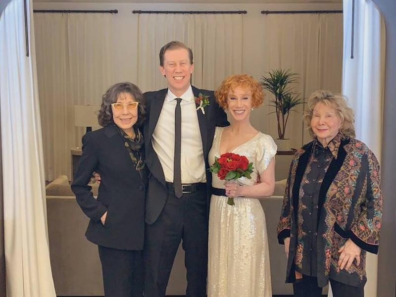 Kathy Griffin wore first date dress to her wedding