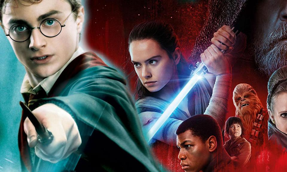 Star Wars has earned more money now than the Harry Potter franchise (Warner Bros/Disney)