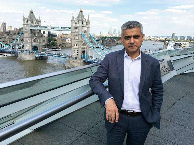 'Catastrophic': Sadiq Khan has issued a stark warning ahead of the triggering of Article 50: Juergen Teller