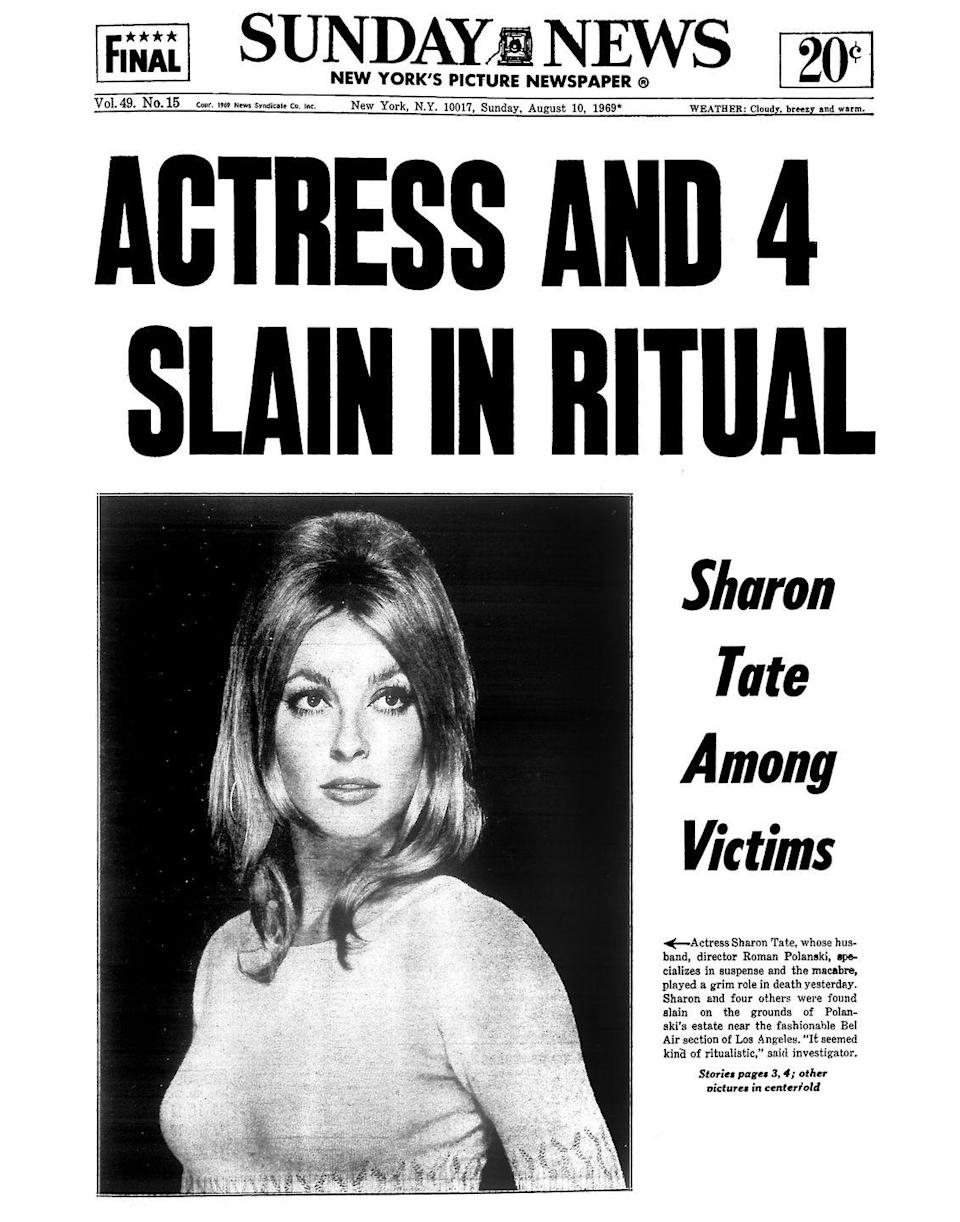 """<p>The news of Tate's murder shocked the world and Hollywood. """"Los Angeles was in shock. For months, no one talked of anything else. Gates and guard dogs went up everywhere overnight,"""" Candice Bergen wrote in her memoir <a href=""""https://www.amazon.com/Knock-Wood-Candice-Bergen/dp/1476770131?tag=syn-yahoo-20&ascsubtag=%5Bartid%7C10051.g.35035737%5Bsrc%7Cyahoo-us"""" rel=""""nofollow noopener"""" target=""""_blank"""" data-ylk=""""slk:Knock Wood"""" class=""""link rapid-noclick-resp""""><em>Knock Wood</em></a><em>.</em></p>"""