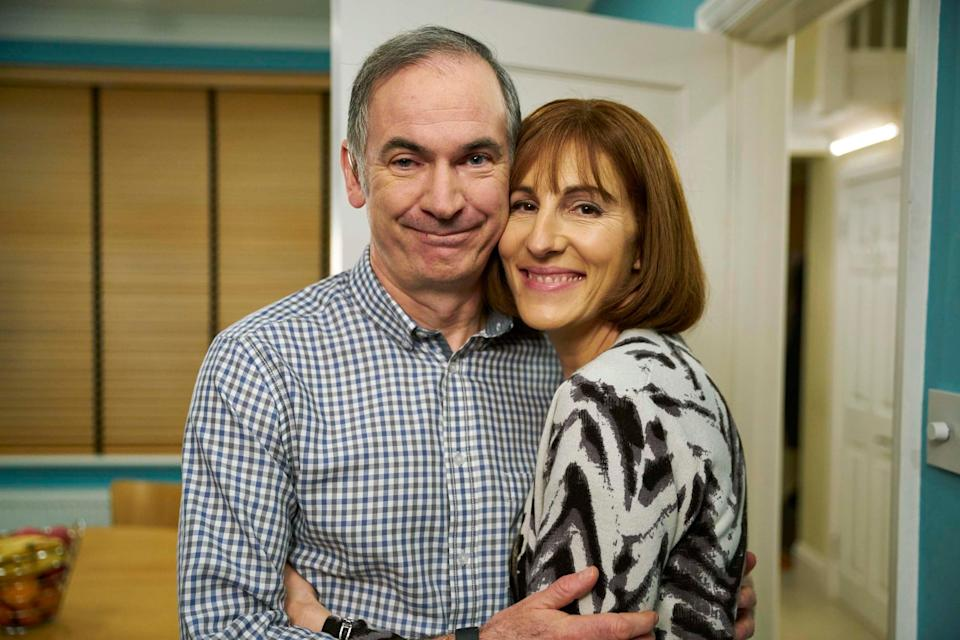 <p>The pair played a married couple in the sitcom</p> (Handout)