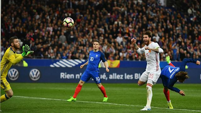 The friendly between France and Spain saw one goal ruled out and another given in what was a landmark game for video assistant referees
