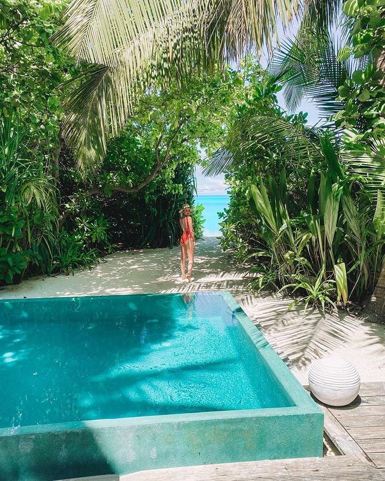 """<p>If you're planning a family vacation to the Maldives, <a href=""""http://www.niyama.com/en"""" target=""""_blank"""" class=""""ga-track"""" data-ga-category=""""Related"""" data-ga-label=""""http://www.niyama.com/en"""" data-ga-action=""""In-Line Links"""">Niyama Private Islands</a> is one of the best resorts with kid-friendly activities and amenities. The Family Beach Pool Villa accommodates up to three adults and two children, has a """"family sized"""" private plunge pool, and opens up right onto the beach. For parents who want some alone time, Niyama's kids club (for ages 12 months to 12 years old) will entertain all ages with cooking classes, performances, crafts, and more. To top it off, the food at Niyama is top-notch, especially at <a href=""""http://www.niyama.com/en/dining/edge"""" target=""""_blank"""" class=""""ga-track"""" data-ga-category=""""Related"""" data-ga-label=""""http://www.niyama.com/en/dining/edge"""" data-ga-action=""""In-Line Links"""">Edge</a>, which is only accessible by boat and offers fresh local Maldivian seafood with a modern twist. The same amazing chef cooks for the underwater restaurant <a href=""""http://www.niyama.com/en/dining/subsix"""" target=""""_blank"""" class=""""ga-track"""" data-ga-category=""""Related"""" data-ga-label=""""http://www.niyama.com/en/dining/subsix"""" data-ga-action=""""In-Line Links"""">Subsix</a>, which also turns into a nightclub with a DJ on specific nights. Don't forget to book a dolphin cruise that takes you to see hundreds of spinner dolphins out in the wild, swimming and jumping around your boat.</p>"""