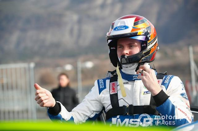 "Esapekka Lappi, M-Sport Ford WRT <span class=""copyright"">McKlein / Motorsport Images</span>"