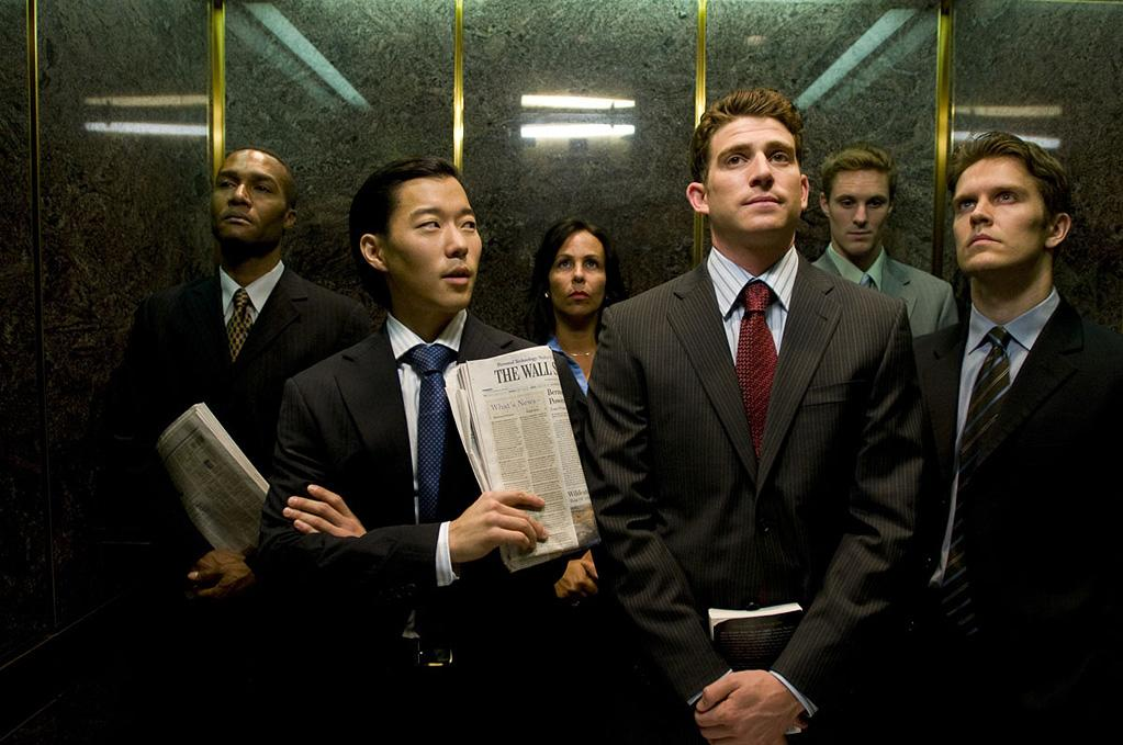 <p>Aaron Yoo and Bryan Greenberg in Roadside Attractions' The Good Guy - 2010</p>