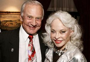 Buzz Aldrin and Lois Driggs Cannon   Photo Credits: Jerod Harris/Getty Images