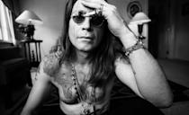 <p>Between loads of tattoos and his necklaces, there's always a lot going on with Ozzy Osbourne's chest. But one thing that remains constant is the rock star's hairy chest. </p>