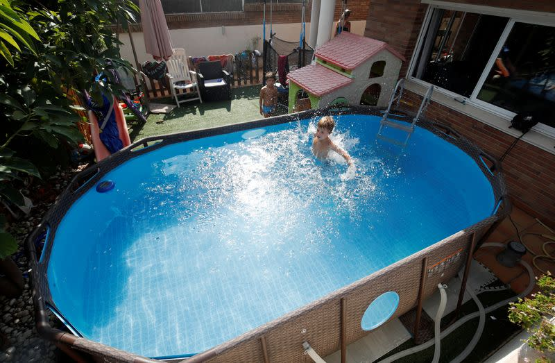 Pool sales skyrocket as consumers splash out on coronavirus cocoons