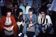 <p>The Rolling Stones hit up one of New York's hottest new nightclubs, Danceteria, in 1980. The hot spot was one of many emerging venues that took over New York nightlife after Studio 54 shuttered its doors in 1980. </p>