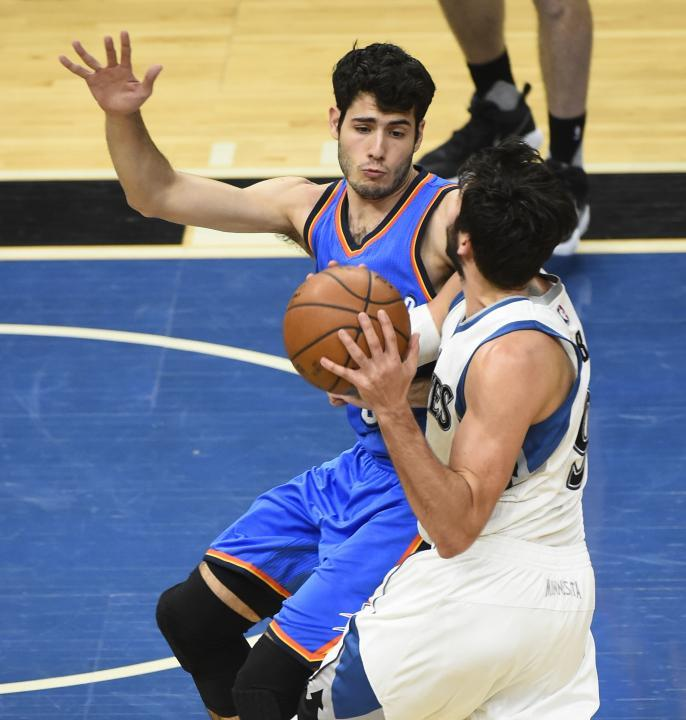 Minnesota Timberwolves vs Oklahoma City Thunder - NBA
